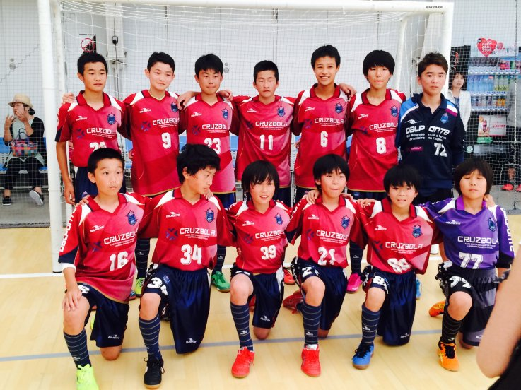 【U-15】東京都ユースフットサルリーグ第1節結果