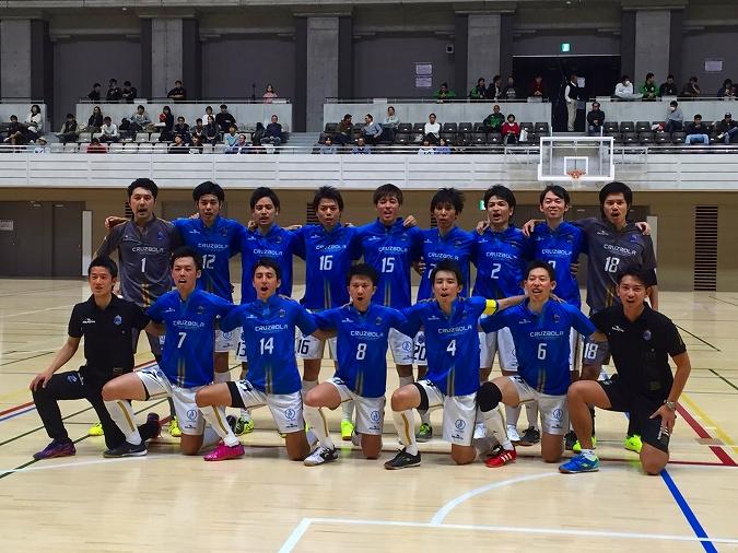 第22回全日本フットサル選手権大会東京都大会の結果の画像