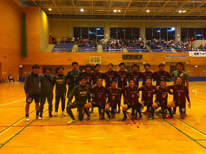 Super Sports XEBIO 関東フットサルリーグ2016 1部 第17節の結果の画像