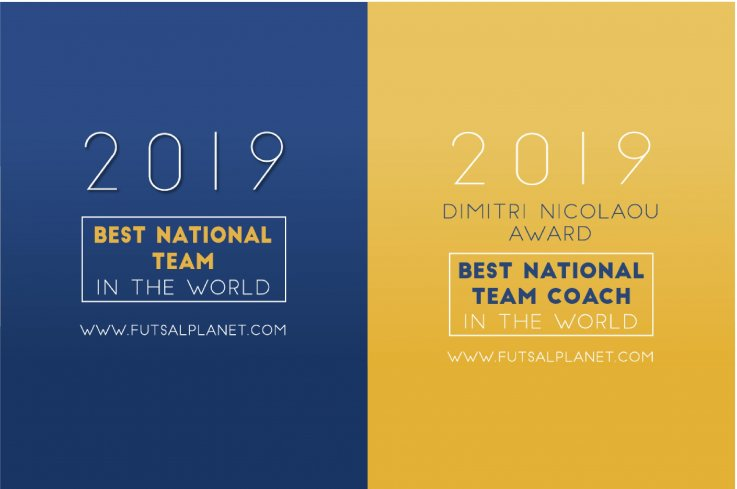 FUTSALPLANET AWARDS 2019ノミネートのお知らせの画像