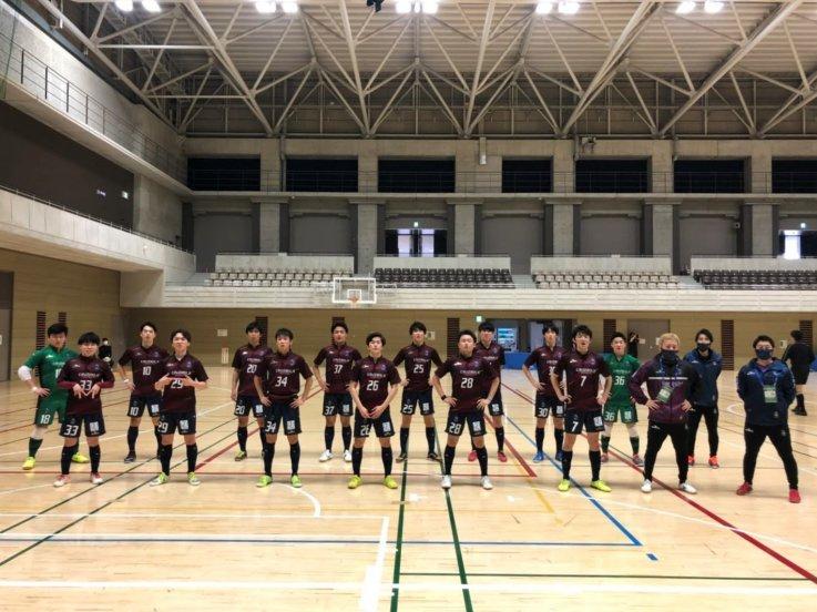 東京都フットサル3部リーグ2020 プレーオフ試合結果の画像