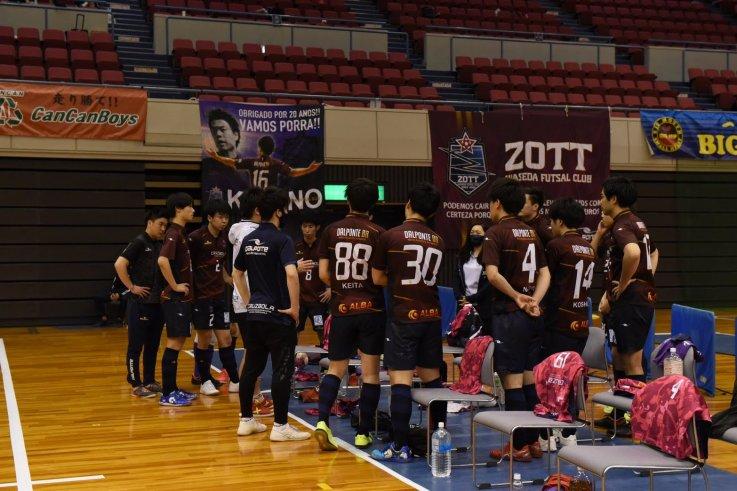 第23回関東フットサルリーグ2021 1部リーグ 第2節のお知らせの画像