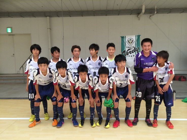 【U-15】東京都ユースフットサルリーグ第5節結果
