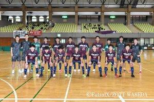 JFA 第8回全日本U-18フットサル選手権大会 関東大会 準決勝