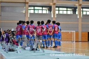 JFA 第8回全日本U-18フットサル選手権大会 関東大会 3位決定戦